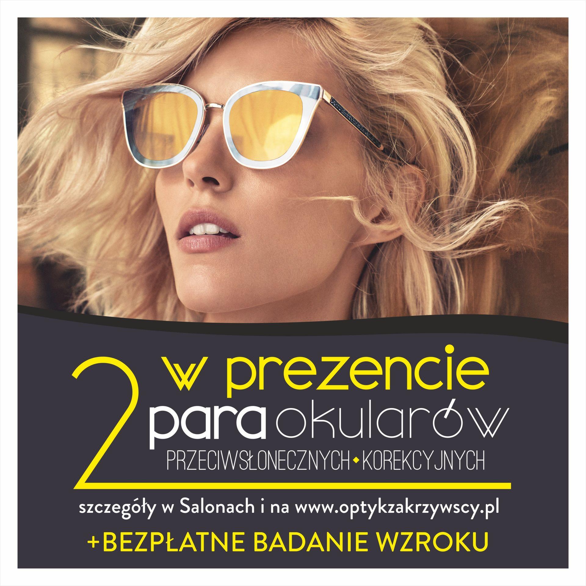 Promocja - 2 para okularów gratis